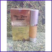 THE FACE SERUM LIGHTENING GOLD RADIANCE VIT. C + VIT. E + COLLAGEN