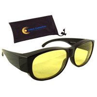 [macyskorea] Night Driving Fit Over Glasses by Ideal Eyewear - Yellow Lens for Anti Glare /13752918