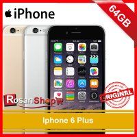 iPhone 6 Plus 64Gb ( Gold , Grey , Silver ) Original 100%