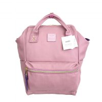 Anello Original Backpack PU Leather Medium - Pink