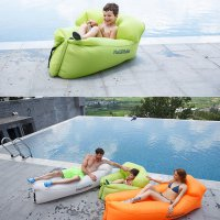 Naturehike Inflatable Sofa Air Bed Lazy Bag Ultralight Portable Size L Camping Travel Beach Outdoor