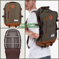 (Termurah) Camera Backpack - Tas Ransel Kamera Bag - Esgotado - Camero Green F