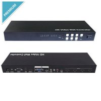 Switcher Multi Input + 4 Port Splitter Hdmi With Video Wall