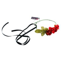 Pitapita Flower Crown Aleshanee Red