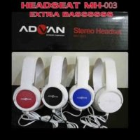 Turun harga advan mh-003 universal multi stereo headphone headset earphone sport Fk261