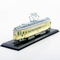 [globalbuy] Diecast Tram Model Toys 1/87 Scale Atlas GroBer Hecht 1931Yellow Truck Car Mod/4463139