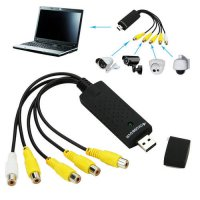 [globalbuy] 4 Channel USB 2.0 DVR Video Audio Capture Adapter Card CCTV Security Camera Ne/4495187