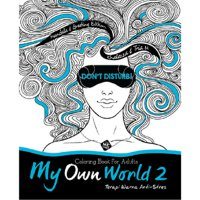 My Own World 2: Coloring Book for Adults (Edisi Mandala & Greeting)