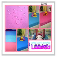 Sprei Anti Ompol/Seprei Tahan Air/Sprey Waterproof/Matrass Bed Protector uk No 3 120x200x30 'Polos'