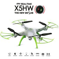 Quadcopter Syma X5HW-I Wifi FPV HD Camera Live Video Altitude Hold Function 2.4Ghz 4CH - Putih