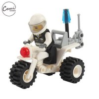 [globalbuy] 27 Pcs Kids Mini Motorcycle Toys Children DIY Assemble Police Vehicle Baby Sma/4559121