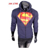 Jaket Pria Superhero Mode Superman - JAK 1785