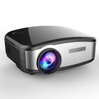 Mini LED projector C6 CHEERLUX 800x480 pixels 1200 lumens with TV Tunner