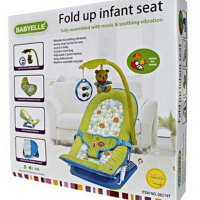 BOUNCER BABY ELLE FOLD UP INFANT SEAT HIJAU