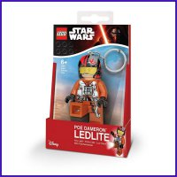 LEGO POE DAMERON STAR WARS KEYLIGHT/ LED LITE KEY CHAIN