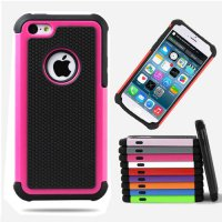 [globalbuy] Phone Case For Apple iPhone 4 4S 5 5S SE 6 6S 7 Plus iPod Touch 4 5 Heavy Duty/4236280