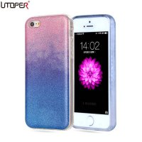[globalbuy] For iPhone 5C Case Silicon Glitter Ultra Thin Phone Cover For Apple iPhone 5C /4236181