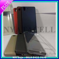 #Casing & Cover Hard Case Gea SoftTouch Oppo R7 /Lite 4G/Casing Tpu Back Clear Crystal