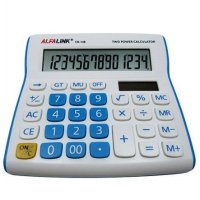 Alfalink CD-14B Calculator Desktop Kalkulator Meja Kantor Office CD 14