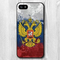 [globalbuy] New Listing Russian Flag Skin Plastic Hard Case for iPhone 4/4s/5/5s/5c/6/6s/6/4235702
