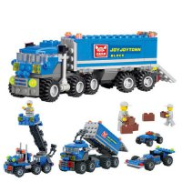 [globalbuy] 163pcs New Original City Truck Building Blocks Sets KAZI 6409 City Car Toys Br/4564416
