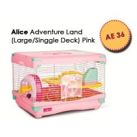 Siap Kirim Kandang Hamster / Adventure Land For Hamster Single Deck