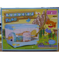 Ready Kandang Hamster / Adventure Land For Hamster Single Deck AE37