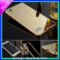 (Casing & Cover) Bumper Mirror Case Lenovo A7000 K3 Note A7000+ Plus Casing Mirror
