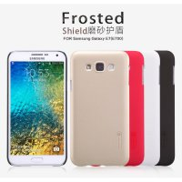 Nillkin Frosted Hard Case Samsung Galaxy E7 + Free Screen Protector