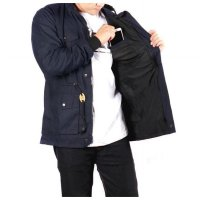 JAKET PARKA CANVAS PREMIUM ZURREL NAVY
