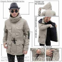 JAKET PARKA CANVAS HIGH QUALITY NEW CONCEPT