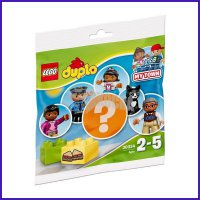 Lego Polybag 30324 Duplo My Town Grandpa Female Cat Policeman