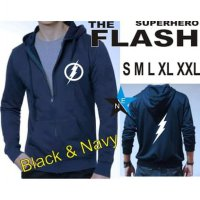 Promo Jaket Sweater Superhero The Flash Keren
