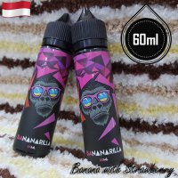 Bananarilla 60ml Eliquid Vape - Banana Strawberry (Premium Liquid)
