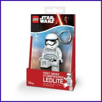 First Order Stormtrooper Led Lite Key Chain Star Wars Lego Starwars