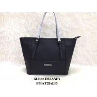 Tas Import Wanita ORIGINAL GUESS DELANEY - BLACK