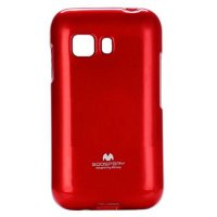 Mercury Jelly TPU Soft Case Samsung Galaxy Young 2 Casing Cover - Merah