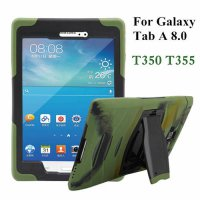 [globalbuy] Hybrid Armor Tablet Case for Samsung Galaxy Tab A 8.0 T350 T355 Silicone Back /4503190
