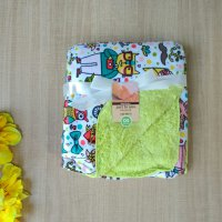 Selimut Bayi Just To You Double Fleece Owl Hipster