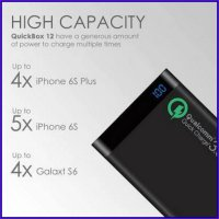 PowerBank Uneed 12000mah (REAL) Qualcomm Quick Charge 3.0 Type C