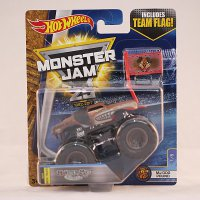 Die Cast Hot Wheels Monster Jam Team Flag Monster Mutt J Dog
