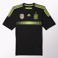 Adidas Jersey FEF A JSY Spain Away F39821 For Men Original - Black