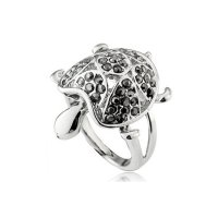 Xuping SJ0228 Cincin 18K Rhodium Plated