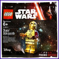 Lego C3PO Polybag Star Wars 5002948