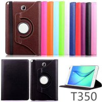 [globalbuy] For Samsung Galaxy Tab A 8.0 T350 Case 360 Rotatable PU Leather Case Cover For/4503211
