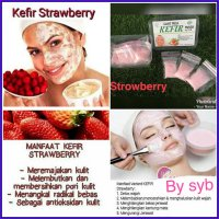 Kefir Mask Strawberry Original by SYB - Masker Kefir Strawberry