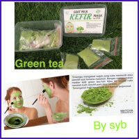 Organic Green Tea Kefir Mask Original by SYB - Masker Kefir Teh Hijau