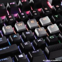 Keyboard Corsair FPS/MOBA Keycap Kit (Gray)