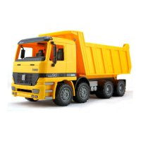 [globalbuy] Hot Sale Sliding Inertia Engineering Car Truck Model Children Educational Toys/4444401