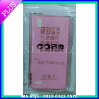 (Kirim Sore Ini) Case Ultrathin Oppo Mirror 5 /Ultra Thin/Fit/Softcase/Silikon/A51t